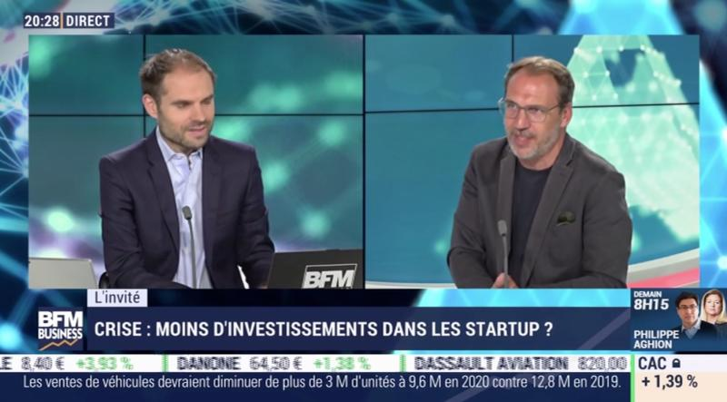 Bertrand Diard, venture partner at Serena & founder of Talend, on BFM Business