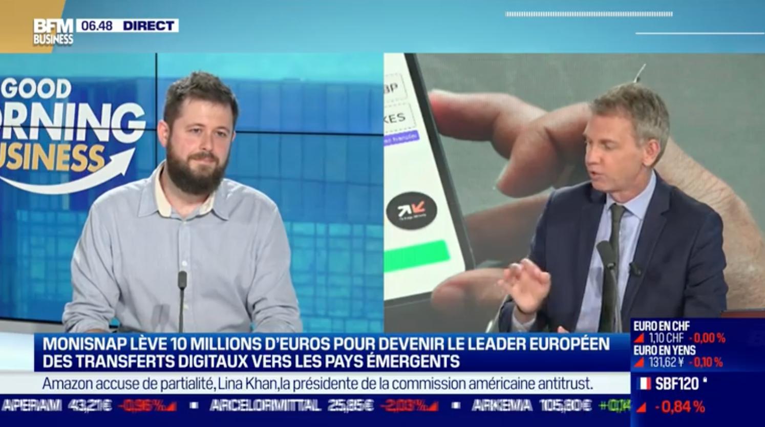 Monisnap lève 10 millions d'euros